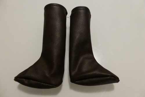 brown boots for sasha and gregor dolls